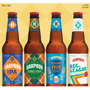 Harpoon Beer, Tailgater, Fall Mix, 12 Pack