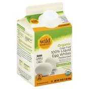 Wild Harvest Egg Whites, Organic, 100% Liquid