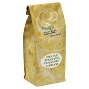Fasigs Coffee, Whole Bean, Toasted Coconut Cream, Decaf