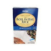 Meijer BOIL-IN-BAG Precooked Enriched Long Grain INSTANT WHITE RICE