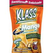 Klass Drink Mix, Sweetened, Mango Flavored