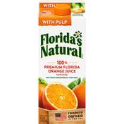 Florida's Natural 100% Juice, Orange, with Pulp