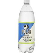 Polar Club Soda with Lime