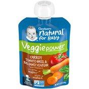 Gerber Natural with Vitamin C Veggie Power Carrot Tomato & Basil Baby Food