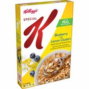 Kellogg's Special K Breakfast Cereal, 11 Vitamins and Minerals, Made with Fiber and Iron, Fruit and Yogurt
