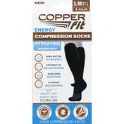 Copper Fit Compression Socks, Energy, Small/Medium