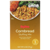 Hy-Vee Cornbread Herbs & Spices Blended With Bread Crumbs Stuffing Mix