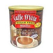Caffe D'Vita Premium Instant Sugar Free Cappuccino