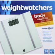 Weight Watchers Scale, Glass, Body Analysis