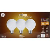 GE Light Bulbs, LED, Soft White, Frosted Finish, 4.5 Watts