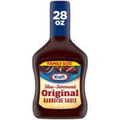 Kraft Original Slow-Simmered Barbecue Sauce Family Size