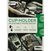 POM Cup-Holder Phone Mount