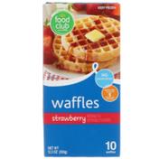 Food Club Strawberry Waffles