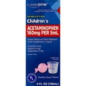 CareOne Children's Acetaminophen Bubble Gum Flavor