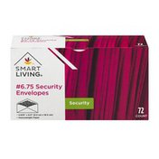 Smart Living 6.75 Security Envelopes - 72 CT