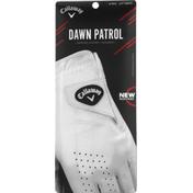 Callaway Golf Glove, White, Left, Medium Reg, Men's