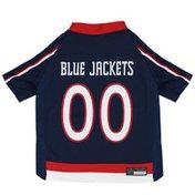 Pet First Extra Large NHL Columbus Blue Jackets Pet Jersey