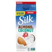 Silk Original Almond Coconut Milk Blend