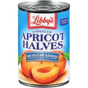Libby's No Sugar Added Unpeeled Apricot Halves