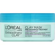 L'Oreal Pre-Shampoo Treatment, Clay Mask, Extraordinary Clay
