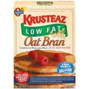 Krusteaz Oat Bran Complete Low Fat Pancake Mix