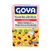 Goya Yellow Rice & Red Beans, Seasoned Rice Mix
