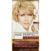 Excellence Haircolor, Permanent, Light Natural Blonde 9N