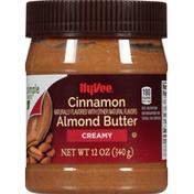 Hy-Vee Almond Butter, Cinnamon, Creamy