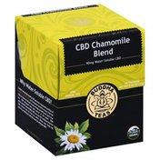 Buddha Teas Herbal Tea, CBD, Organic, Chamomile Blend, Bags