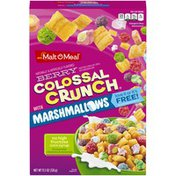 Malt-O-Meal Colossal Crunch Berry with Marshmallows Cereal