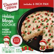 Duncan Hines Pan Cookie Mix, Sugar Cookie, Holiday Mega Cookie