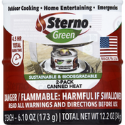 Sterno Canned Heat, 2 Pack