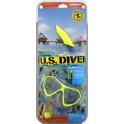 US Divers Dorado Mask, Seabreeze Snorkel, Junior