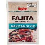 Hy-Vee Seasoning Mix, Fajita, Mexican Style