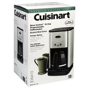 Cuisinart Coffeemaker, Programmable, 12-Cup, Brew Central