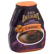 Java Delight Coffee Flavoring, Caramel, Liquid
