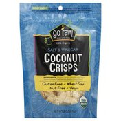 Go Raw Organic Salt and Vinegar Coconut Crisps, Bag