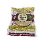 Uncooked Natural Corn Tortillas