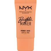 NYX Professional Makeup Primer, Base, Bright Maker