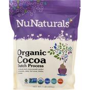 NuNaturals Cocoa, Organic, Dutch Process