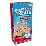 Kellogg's Rice Krispies Treats Crispy Marshmallow Squares Chocolatey Chip Marshmallow