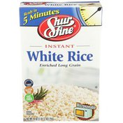 Shurfine Instant Enriched Long Grain White Rice
