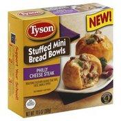 Tyson Bread Bowls, Stuffed Mini, Philly Cheese Steak