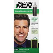 Just For Men Touch of Gray Multiple Application Kit, Mustache & Beard, Dark Brown & Black B-45/55