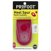 ProFoot Heel Spur Relief Cushions, Women's, Fits All
