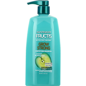 Garnier Fructis Shampoo, Fortifying, Ceramide + Apple Extract, Grow Strong