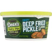 Dean's Dip, Crispy Deep Fried Pickle Flavored