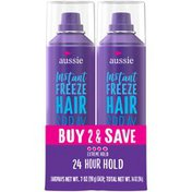 Aussie Strong Hold Hairspray - Instant Freeze Hairspray