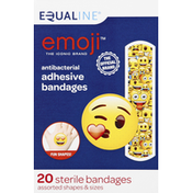 Equaline Adhesive Bandages, Antibacterial