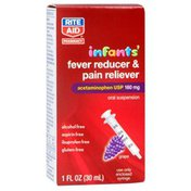 Rite Aid Infants' Fever Reducer & Pain Reliever